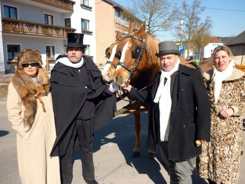 Faschingsdienstag in Neukirchen