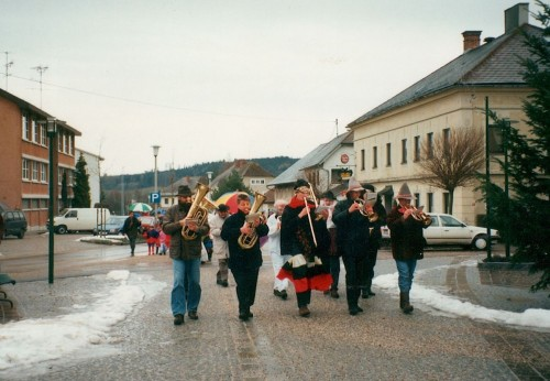 Faschingsdienstag in Neukirchen 1997